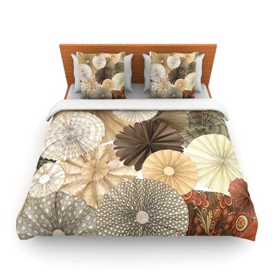 Dusty Road by Heidi Jennings Woven Duvet Cover Size: Twin