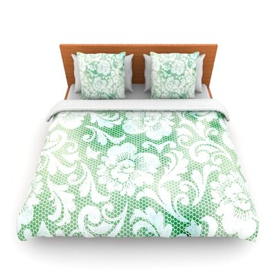 Daydreaming by Heidi Jennings Woven Duvet Cover Size: King/California King