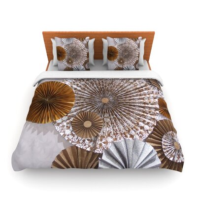 Venice by Heidi Jennings Woven Duvet Cover Size: King/California King