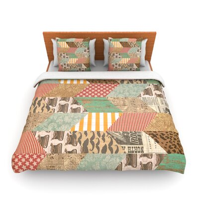 Hodge Podge by Heidi Jennings Woven Duvet Cover Size: King/California King