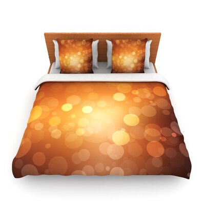 Sunrise Woven Duvet Cover Size: Queen