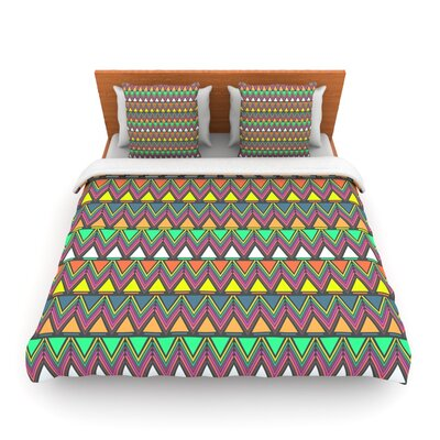 Pattern Play by Nandita Singh Woven Duvet Cover Size: Queen