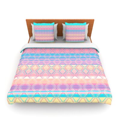Denin Diamond by Nina May Woven Duvet Cover Size: King/California King