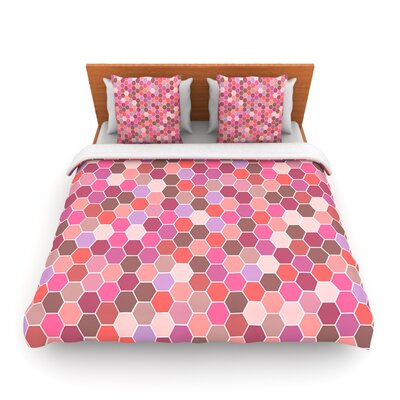 Blush by Nandita Singh Woven Duvet Cover Size: Twin