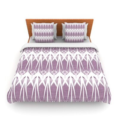 Arrow by Alison Coxon Featherweight Duvet Cover Size: King/California King, Fabric: Woven Polyester