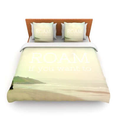 Roam by Alison Coxon Woven Duvet Cover Size: Twin