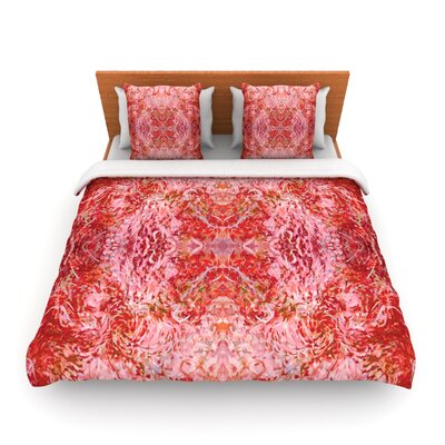 Chili by Nikposium Woven Duvet Cover Size: Twin