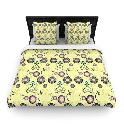 Spring Florals by Mydeas Featherweight Duvet Cover Size: Queen, Fabric: Woven Polyester