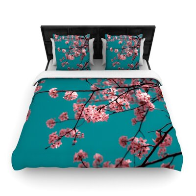 Dreaming by Ann Barnes Featherweight Duvet Cover Size: Queen, Fabric: Woven Polyester