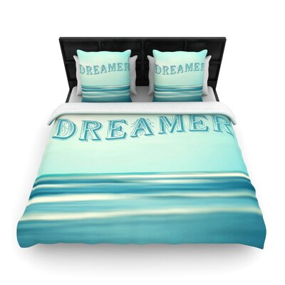 Dreamer by Ann Barnes Featherweight Duvet Cover Size: King/California King, Fabric: Woven Polyester