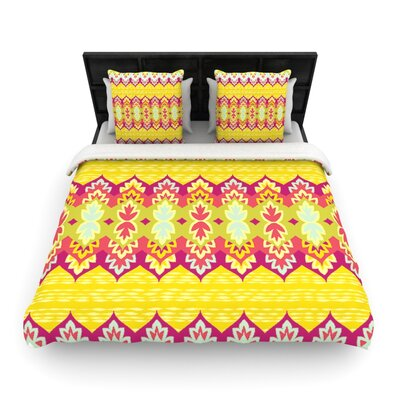 Bohemia by Amanda Lane Woven Duvet Cover Size: King/California King