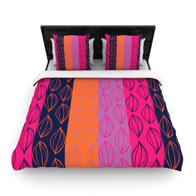 Tropical Seeds by Anneline Sophia Featherweight Duvet Cover Size: King/California King, Fabric: Woven Polyester
