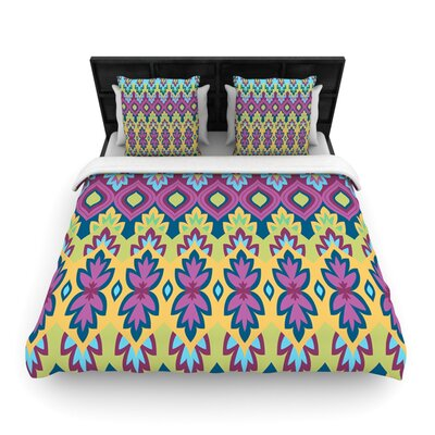 Boho Chic by Amanda Lane Featherweight Duvet Cover Size: Twin, Fabric: Woven Polyester