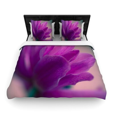 Standing Ovation by Ann Barnes Featherweight Duvet Cover Size: Queen, Fabric: Woven Polyester