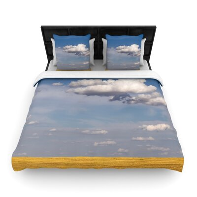Big Sky by Ann Barnes Featherweight Duvet Cover Size: Twin, Fabric: Woven Polyester