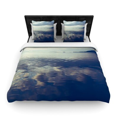 Cloud Atlas by Ann Barnes Featherweight Duvet Cover Size: King/California King, Fabric: Woven Polyester