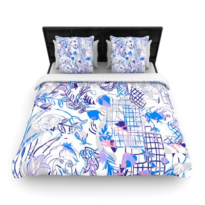 She by Gabriela Fuente Woven Duvet Cover Size: King/California King