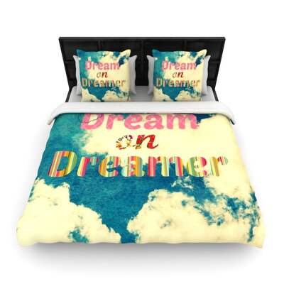 Dream On by Robin Dickinson Woven Duvet Cover Size: Queen