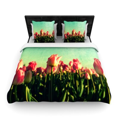 How Does Your Garden Grow by Robin Dickinson Woven Duvet Cover Size: King/California King