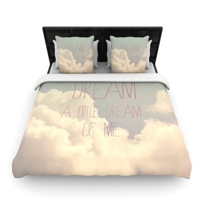 Dream of Me by Rachel Burbee Woven Duvet Cover Size: Queen