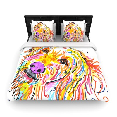 Koda by Rebecca Fischer Woven Duvet Cover Size: Queen