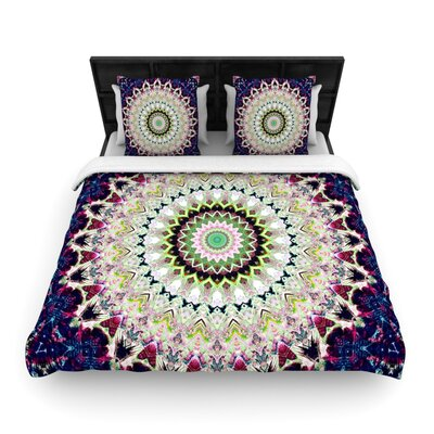 Summer of Folklore by Iris Lehnhardt Woven Duvet Cover Size: King/California King