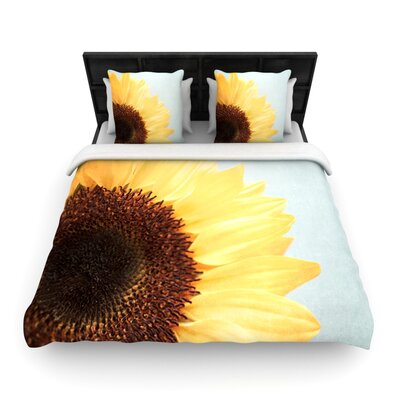 Sunshine by Susannah Tucker Woven Duvet Cover Size: Queen