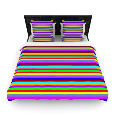 Bombon by Trebam Woven Duvet Cover Size: Twin