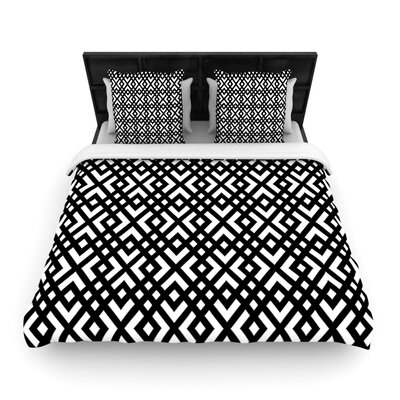 Dijagonala by Trebam Woven Duvet Cover Size: King/California King