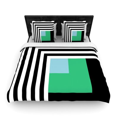 Kutovi by Trebam Woven Duvet Cover Size: Twin