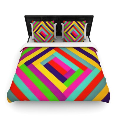 Nakriv by Trebam Woven Duvet Cover Size: Twin
