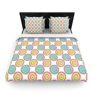 Bombay Dreams by Apple Kaurs Woven Duvet Cover Size: Queen