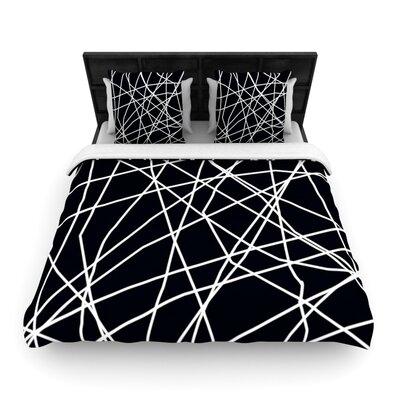 Paucina by Trebam Woven Duvet Cover Size: King/California King