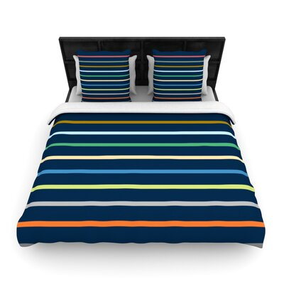 Tanak by Trebam Woven Duvet Cover Size: Queen