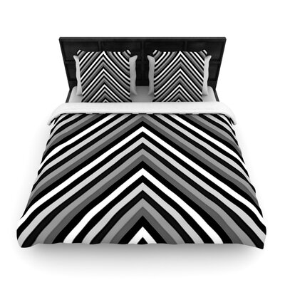 Uspon by Trebam Woven Duvet Cover Size: Twin