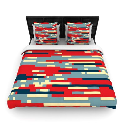 Nada by Trebam Woven Duvet Cover Size: Queen
