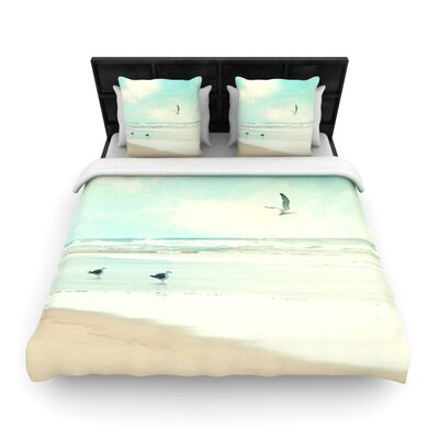 Away We Go by Sylvia Cook Woven Duvet Cover Size: King/California King