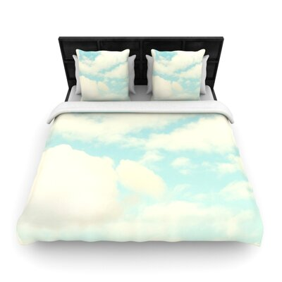 Clouds by Sylvia Cook Woven Duvet Cover Size: Twin