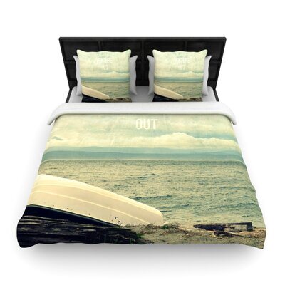 Venture Out by Robin Dickinson Woven Duvet Cover Size: King/California King