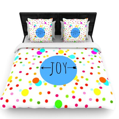 Oh Joy by Sreetama Ray Woven Duvet Cover Size: King/California King