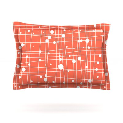 Woven Web by Budi Kwan Woven Pillow Sham Size: Queen
