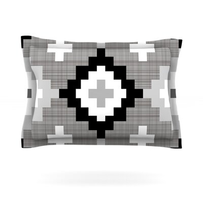 Linen Moroccan by Pellerina Design Featherweight Pillow Sham Size: Queen, Fabric: Cotton