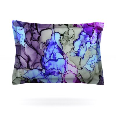 String Theory by Claire Day Featherweight Pillow Sham Size: King, Fabric: Cotton