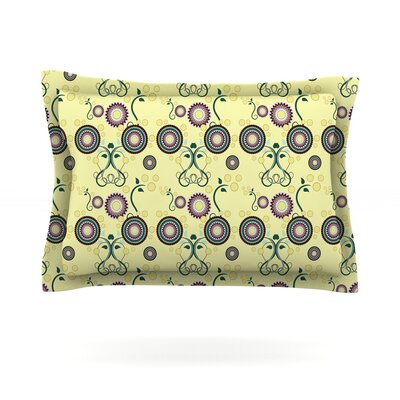 Spring Florals by Mydeas Featherweight Pillow Sham Size: Queen, Fabric: Cotton