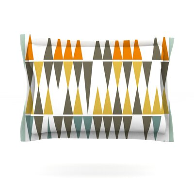 Diamond Kilim by Pellerina Design Featherweight Pillow Sham Size: Queen, Fabric: Cotton