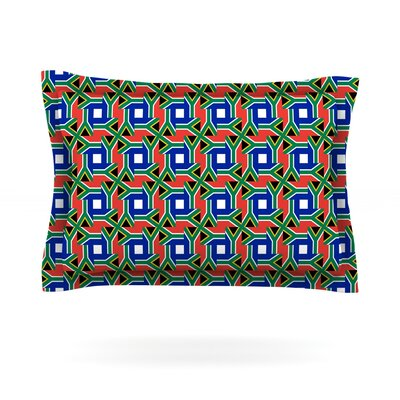 South Africa by Bruce Stanfield Featherweight Pillow Sham Size: King, Fabric: Cotton