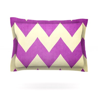 Juicy by Catherine McDonald Featherweight Pillow Sham Size: Queen, Fabric: Cotton