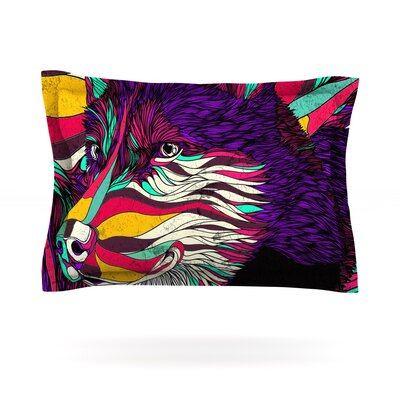 Color Husky by Danny Ivan Featherweight Pillow Sham Size: Queen, Fabric: Cotton