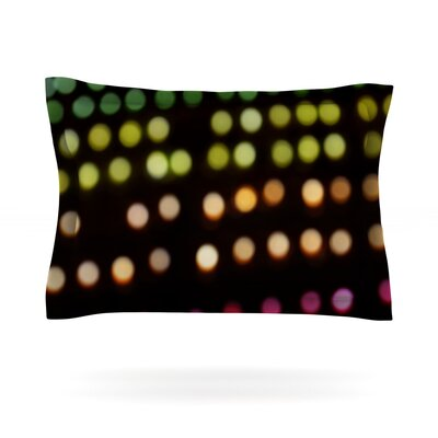 City Lights by Catherine McDonald Featherweight Pillow Sham Size: Queen, Fabric: Cotton