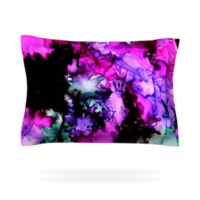 Siren by Claire Day Featherweight Pillow Sham Size: King, Fabric: Cotton